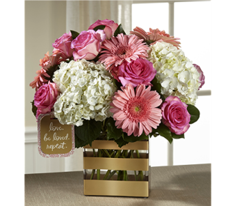 The Love Bouquet by Hallmark in Chicago IL, Yera's Lake View Florist