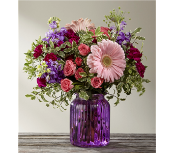 The Purple Prose� Bouquet by BHG in Chicago IL, Yera's Lake View Florist