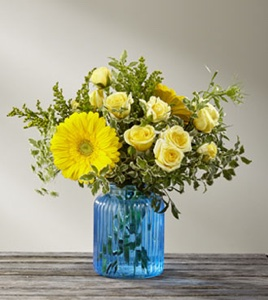 The Something Blue� Bouquet by BHG in Sapulpa OK, Neal & Jean's Flowers & Gifts, Inc.