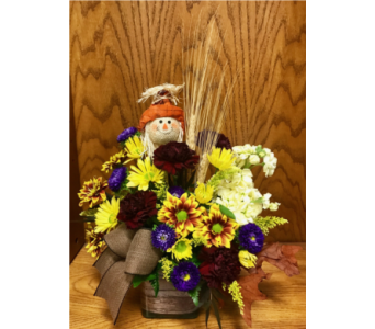 Rustic Fall Cube  in Wall Township NJ, Wildflowers Florist & Gifts