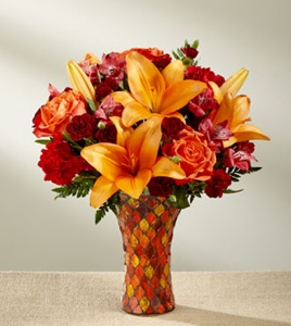 The Autumn Splendor� Bouquet in Sapulpa OK, Neal & Jean's Flowers & Gifts, Inc.