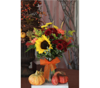 Fabulous Fall Bouquet in Upland CA, Suzann's Flowers
