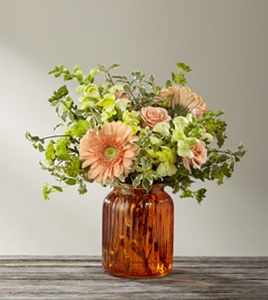 The Peachy Keen� Bouquet by BHG in Sapulpa OK, Neal & Jean's Flowers & Gifts, Inc.