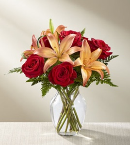 The Fall Fire� Bouquet in Sapulpa OK, Neal & Jean's Flowers & Gifts, Inc.