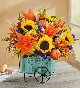 Harvest Garden Cart by 1800flowers in Las Vegas NV, A French Bouquet