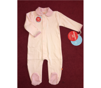 Magnetic Pink Gingham Collar Onesie in Conway AR, Conways Classic Touch