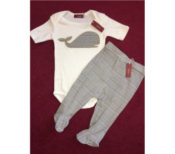 Whale Onesie and Pants Outfit in Conway AR, Conways Classic Touch