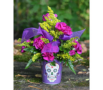 Flores Skull in Indianapolis IN, Gillespie Florists