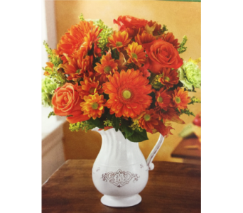 Harvest Spice Bouquet in Kissimmee FL, Golden Carriage Florist