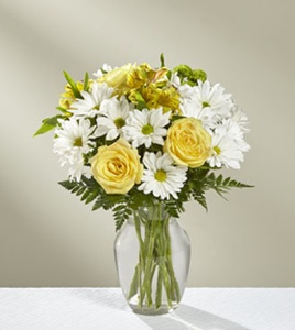 The Sunny Sentiments� Bouquet in Sapulpa OK, Neal & Jean's Flowers & Gifts, Inc.