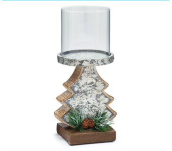 Christmas Tree Candle Holder in Tampa FL, Buds, Blooms & Beyond