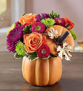 Pumpkin Petals by 1800flowers in Las Vegas NV, A French Bouquet
