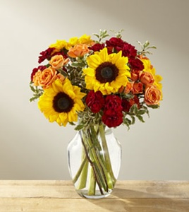 The Fall Frenzy™ Bouquet in Sapulpa OK, Neal & Jean's Flowers & Gifts, Inc.