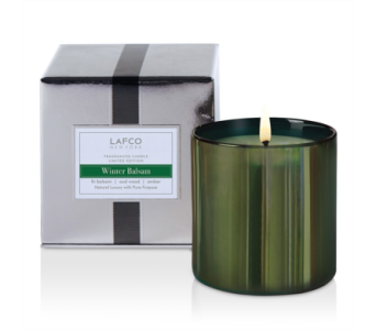 Lafco Winter Balsam 15 oz candle  in Bellevue WA, CITY FLOWERS, INC.