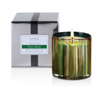 Lafco Winter Balsam 6 oz candle  in Bellevue WA, CITY FLOWERS, INC.