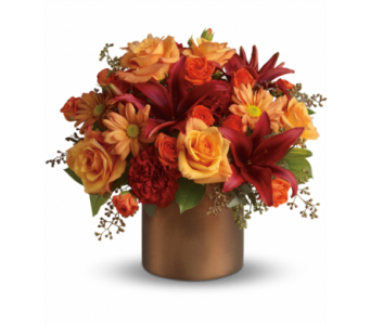 Teleflora's Amazing Autumn in Muskegon MI, Barry's Flower Shop