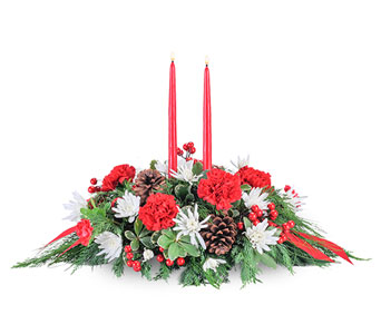 Christmas Table in Harrisonburg VA, Blakemore's Flowers, LLC