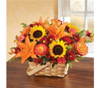 Fall Fields of Europe Basket in Pittsburgh PA, Eiseltown Flowers & Gifts