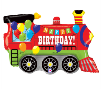Happy Birthday Train in Perrysburg & Toledo OH  OH, Ken's Flower Shops