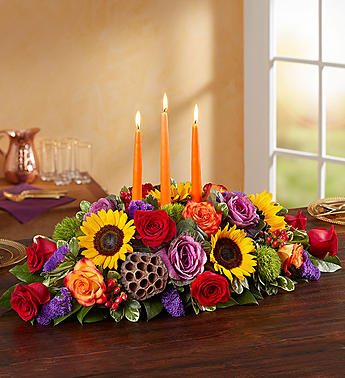 Garden of Grandeur for Fall Centerpiece- Large in El Cajon CA, Conroy's