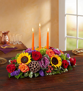 Garden of Grandeur for Fall Centerpiece- Medium in El Cajon CA, Conroy's