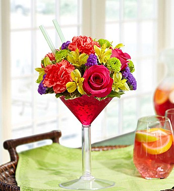Sangria Bouquet, Medium in El Cajon CA, Conroy's Flowers