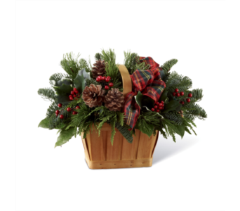 FTD Christmas Coziness Basket in Ajax ON, Reed's Florist Ltd