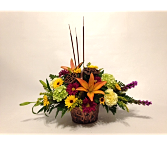 Copper Beech Centerpiece in Herndon VA, Herndon Florist, Inc