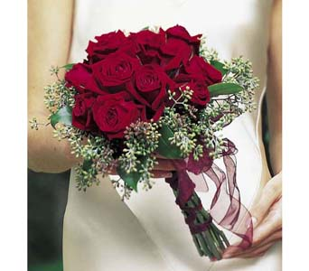 Red Rose Hand Tied-Small in Kennebunk ME, Blooms & Heirlooms ��