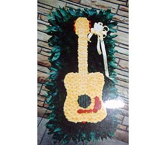 Stein Acoustic Guitar - Special Design in Burlington NJ, Stein Your Florist