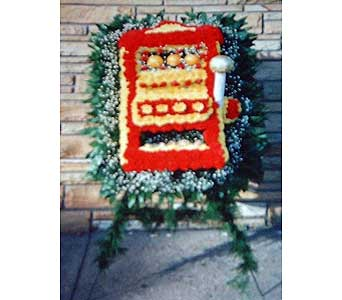 Stein Slot Machine - Special Design in Burlington NJ, Stein Your Florist