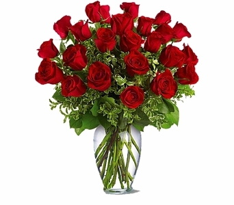 Two Dozen Red Roses in Seattle WA, Topper's European Floral Design