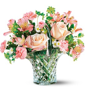 Teleflora's Galway Irish Crystal Bouquet in Dearborn MI, Fisher's Flower Shop
