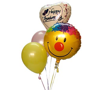 Happy Anniversary Balloon Bouquet, flowershopping.com