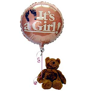 It's a Girl Bear, flowershopping.com