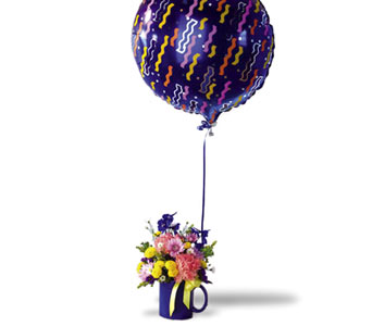 Mug with Balloon, flowershopping.com