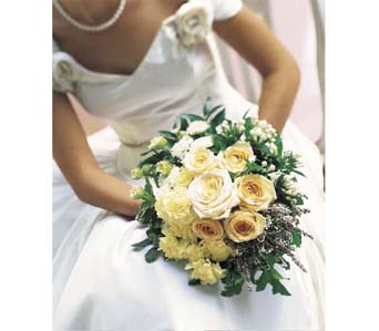 Bridal Bouquet in Chalfont PA, Bonnie's Flowers