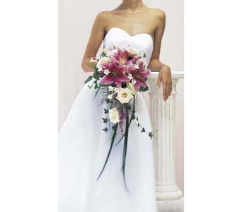 Bridal Bouquet in Kitchener ON, Camerons Flower Shop