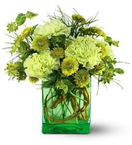 Teleflora's Misty Morning Bouquet in San Francisco CA, Fillmore Florist