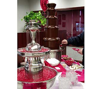 Punch & Chocolate Fountain Rentals in Grand Island NE, Roses For You!
