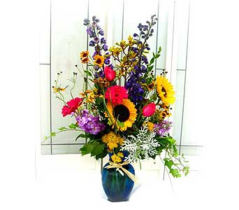 Colorful Summer Bouquet Large in Lake Forest CA, Cheers Floral Creations