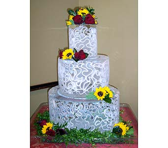 Wedding Cakes in Kirkland WA, Fena Flowers, Inc.