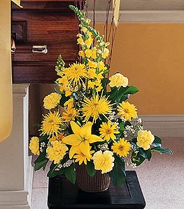 Brighter Blessings Arrangement in Port St Lucie FL, Flowers By Susan