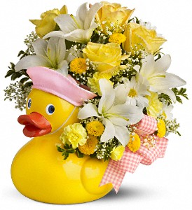 Teleflora's Just Ducky Bouquet - Girl in Hollywood FL, Al's Florist & Gifts