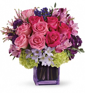 Exquisite Beauty by Teleflora in West Los Angeles CA, Sharon Flower Design