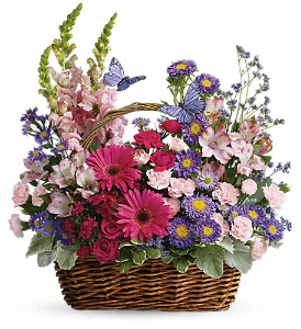 Country Basket Blooms in Largo FL, Rose Garden Flowers & Gifts, Inc