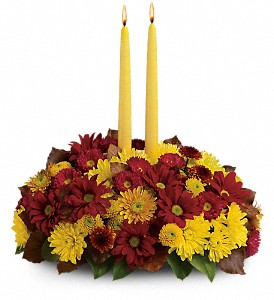 Harvest Happiness Centerpiece in Jacksonville FL, Deerwood Florist