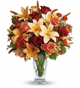 Teleflora's Fall Fantasia in Northfield MN, Forget-Me-Not Florist