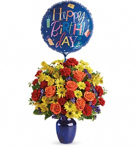 Fly Away Birthday Bouquet in Nutley NJ, A Personal Touch Florist