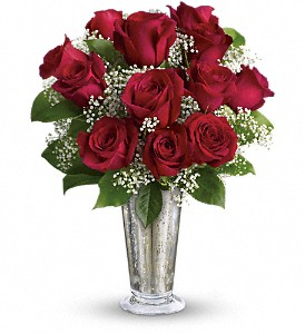 Teleflora's Kiss of the Rose in Rock Hill SC, Plant Peddler Flower Shoppe, Inc.